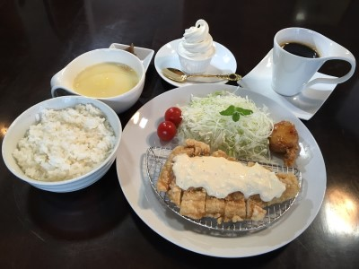 Freshly Fried Chicken Nanban (Fried chicken with tartare sauce) Course